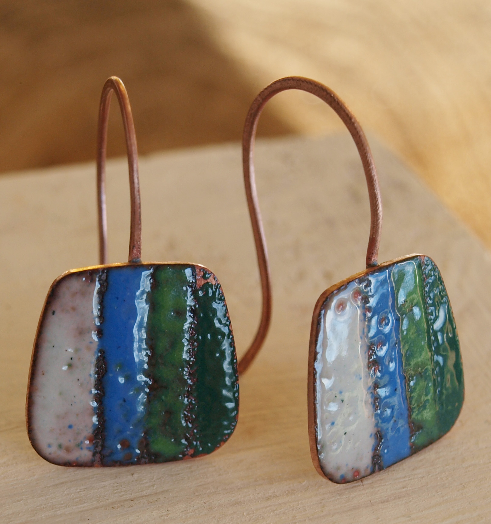 metal steede enamel product of img sculpture jewlery earrings image sgraffito kalaya