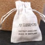hand stamped gift bag