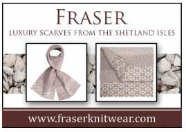 fraser knitwear scarf