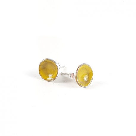 buttercup silver studs