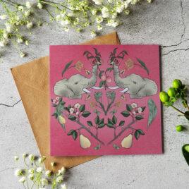 Elephants and the Fruit Garden card