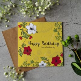 Happy Birthday card – Have a Fabulous Day