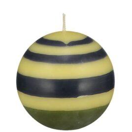 Small Eco Ball Candle – Olive, Indigo & Jasmine