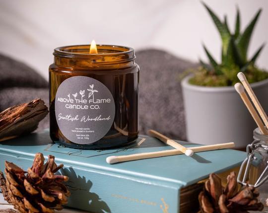 scottish woodland candle
