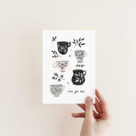 Time for tea – A6 Card