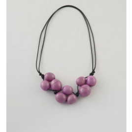 Bolota Adjustable necklace in Lilac