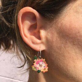 CHERRY BLOSSOM EARRINGS – STERLING SILVER
